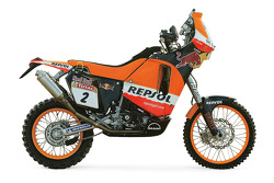 The Repsol Red Bull KTM of Marc Coma