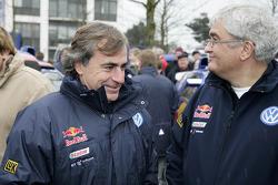 Volkswagen Motorsport departure in Wolfsburg: Carlos Sainz