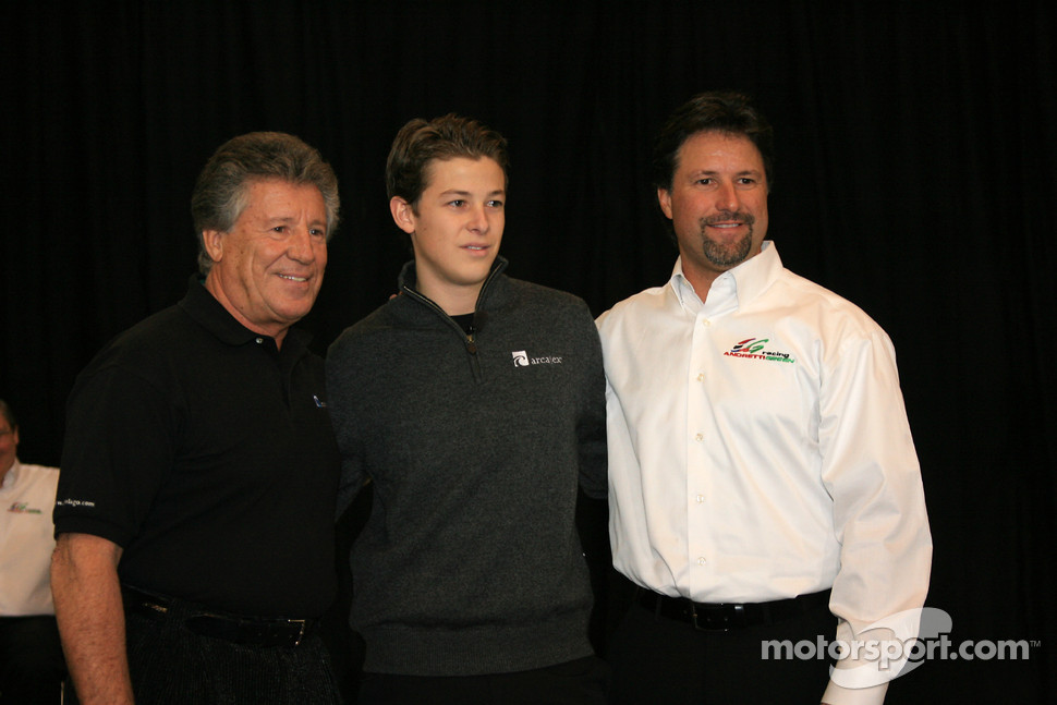 Mario, Marco and Michael Andretti