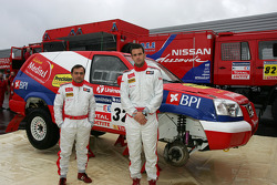 Team Nissan Dessoude presentation: Miguel Ramalho and Miguel Barbosa