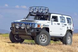 Team Gordon: Rod Hall tests the Hummer H3 Race Truck