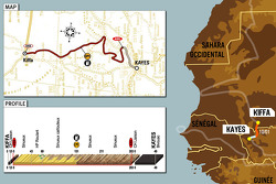 Stage 10: 2006-01-10, Kiffa to Kayes