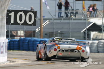 #48 Spyker Squadron Spyker C-8 Spyder GT2 R: Tom Coronel, Marc Goossens, Donny Crevels