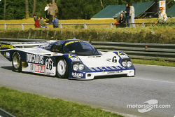 #26 Obermaier Racing Team Porsche 956: Jürgen Lässig, Hervé Regout, Jésus Pareja