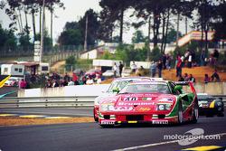 #40 Ferrari F40 GTE: Anders Olofsson, Luciano Della Noce, Tetsuya Oota