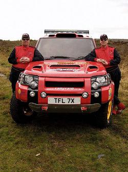 Team Rally Raid UK: Paul Green and Martin Coulson