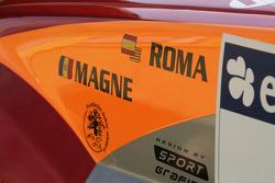 Detail of Nani Roma's Mitsubishi Pajero Montero Evolution MPR12
