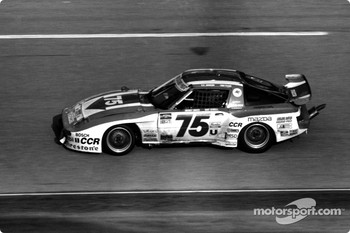 #75 Clayton Cunningham Mazda RX-7: Bart Kendall, Johnny Unser, Tom Frank