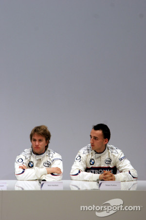 BMW Sauber F1 Team launch, Valencia