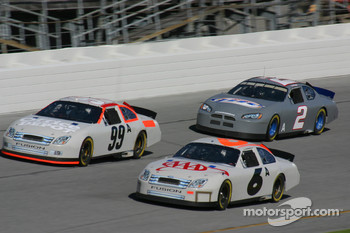 Carl Edwards, Mark Martin and Kurt Busch