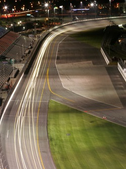 Night lights at Daytona