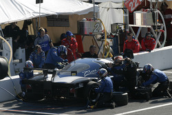 Pitstop for #28 Finlay Motorsports Ford Crawford: Rob Finlay, Michael Valiante, Bryan Herta, Buddy Rice