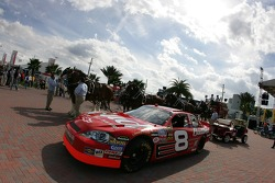 Budweiser Bistro event: the Bud Chevy on display