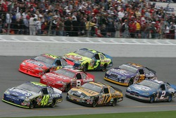 Jimmie Johnson leads Matt Kenseth, Dale Earnhardt Jr. and Jeff Gordon