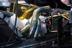 Engine of the McLaren Mercedes