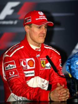 Press conference: Michael Schumacher