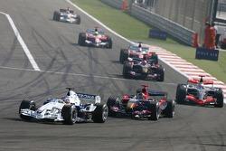 Jacques Villeneuve and Scott Speed