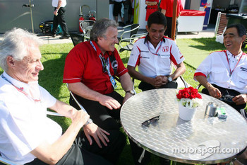Tom Walkinshaw and Aguri Suzuki