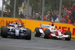 Mark Webber and Ralf Schumacher