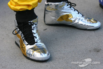 Shoes of Fernando Alonso