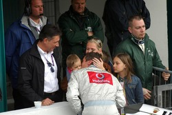 Bernd Schneider with his family