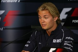 FIA press conference: Nico Rosberg