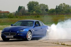 Vitantonio Liuzzi in his new Maserati GranSport
