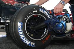 Michelin tire on a Toro Rosso car