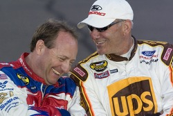Ken Schrader and Dale Jarrett