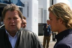 Norbert Haug with Nico Rosberg