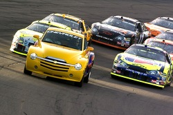 The Pace car leads the field during the pace laps