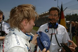 Nick Heidfeld and Dr. Mario Theissen