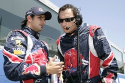 Vitantonio Liuzzi and race engineer Riccardo Adami