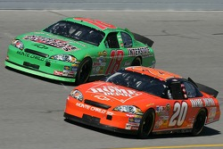 Tony Stewart and J.J. Yeley