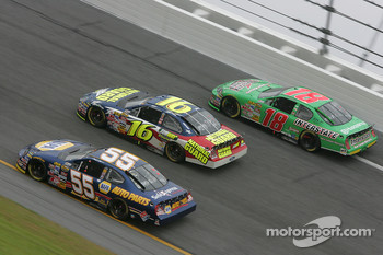 Michael Waltrip, Greg Biffle and J.J. Yeley