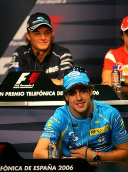 FIA Thursday press conference: Fernando Alonso and Nico Rosberg