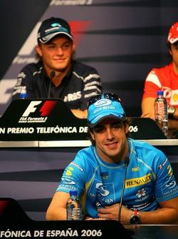 FIA Thursday press conference: Fernando Alonso and Nico Rosberg
