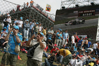 Fans at Circuit de Catalunya