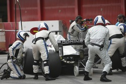 Andreas Zuber pit stop