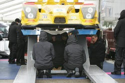 Penske Motorsports Porsche RS Spyder at technical inspection
