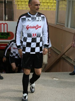 Charity football match: Gabriele Tarquini