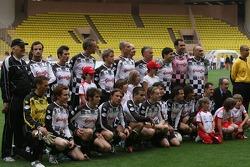 Charity football match: Team photo, F1 Drivers national team