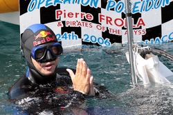 Poseidon Operation: free diver Pierre Frolla