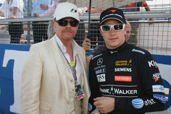 Axl Rose and Kimi Raikkonen