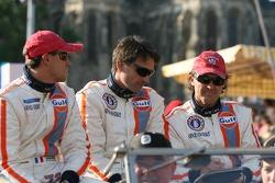 Romain Iannetta, Christian Lefort and Yves Lambert