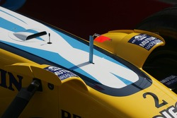 Renault F1 R26 winglet detail