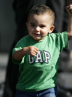 Sebastian Montoya son of Juan Pablo Montoya