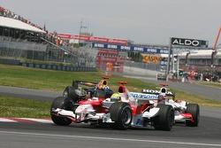 Ralf Schumacher and Takuma Sato