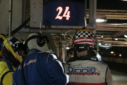 #24 Binnie Motorsports crew ready for a driver change