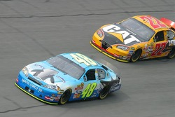 Jimmie Johnson and Dave Blaney